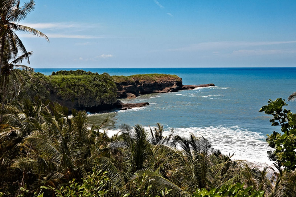 Bali Indonesia by the sea